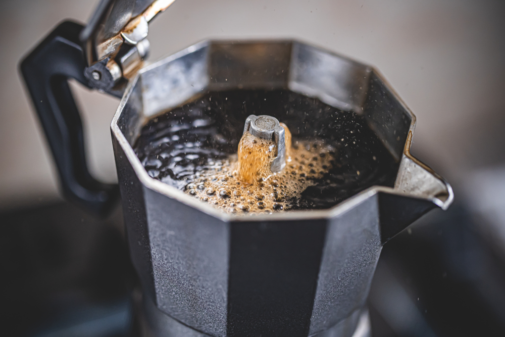 how to make coffee on the stove 1
